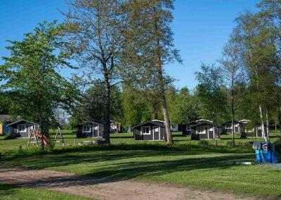 stugor Valle camping från badplats